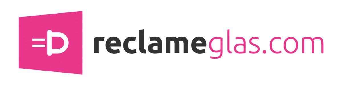 Reclameglas banner
